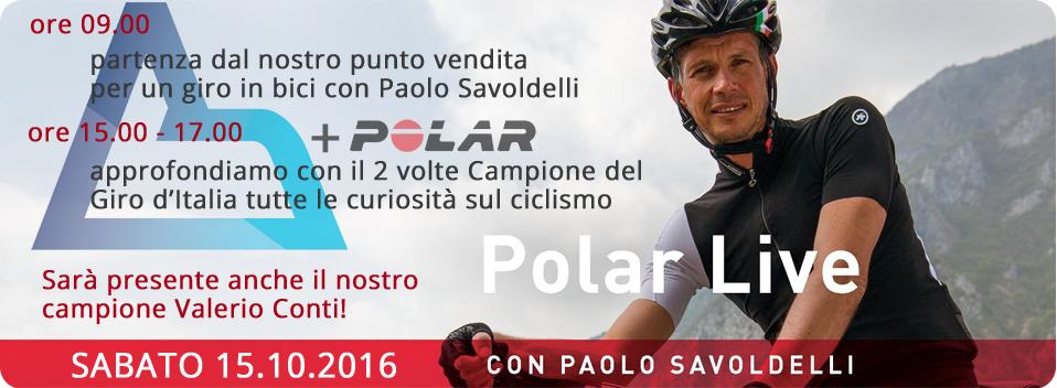 Paolo Savoldelli a Cicli Bortolotto - 15/10/2016